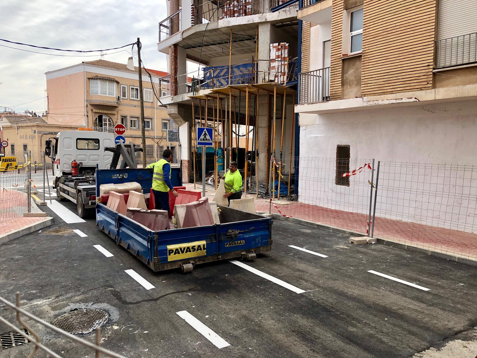 Mañana se abre al tráfico la nueva conexión entre el barrio de El Carmen y el Infante