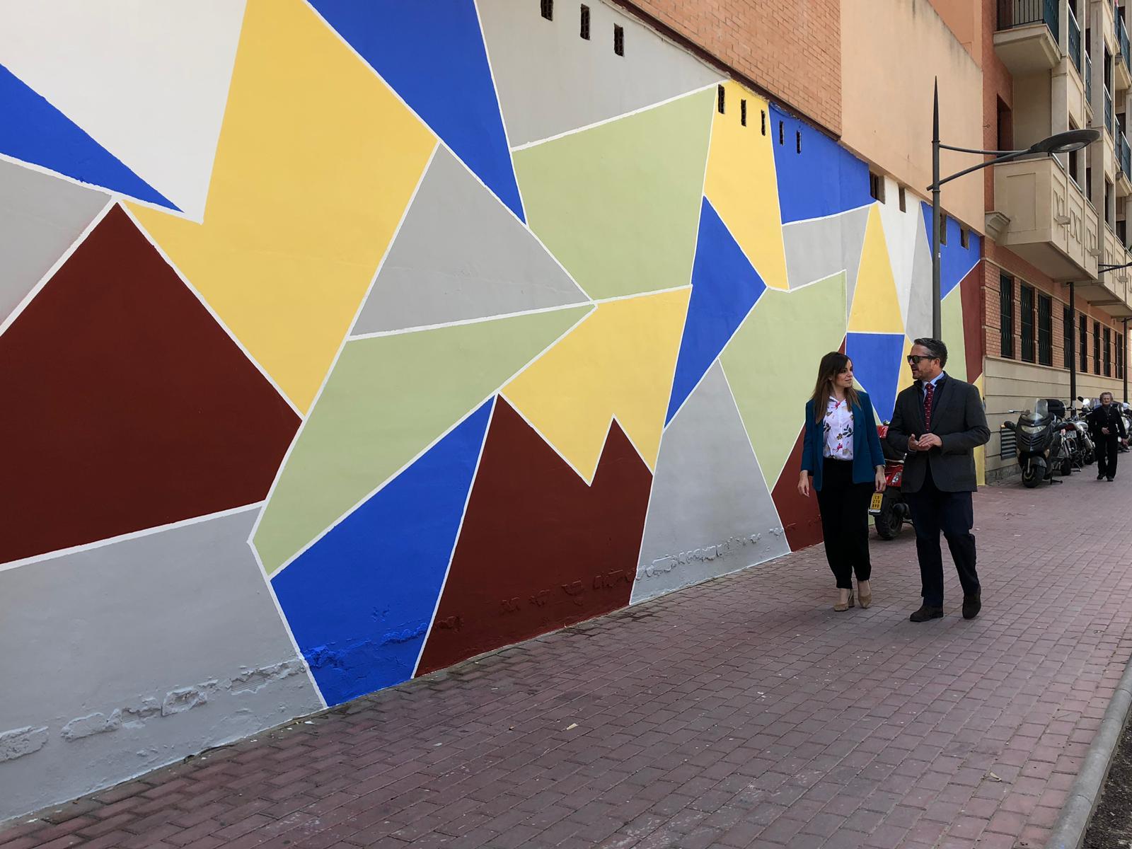 Se han eliminado 500 pintadas vandálicas en El Carmen