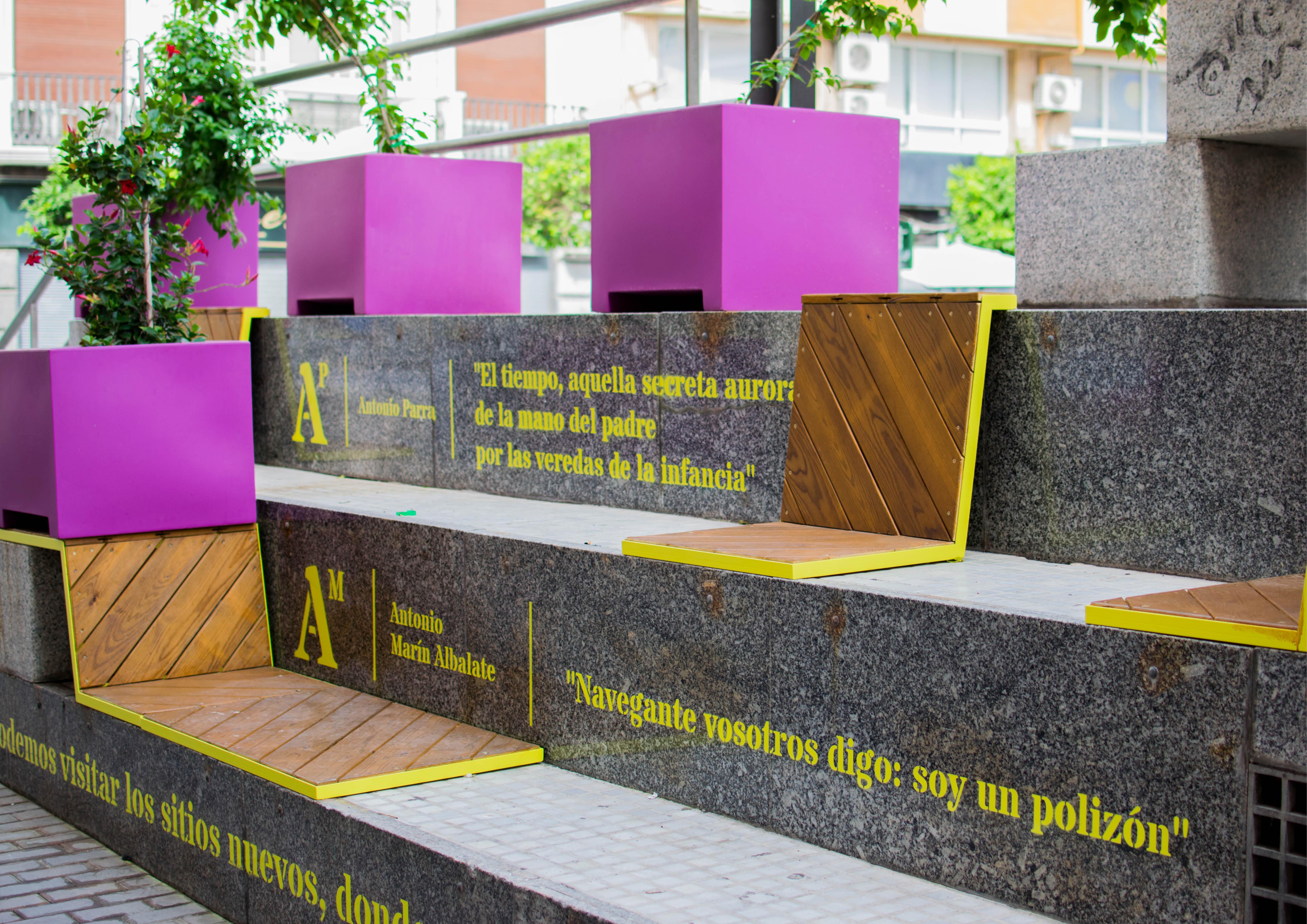La implicación vecinal en ADN Urbano renueva la plaza de Europa.